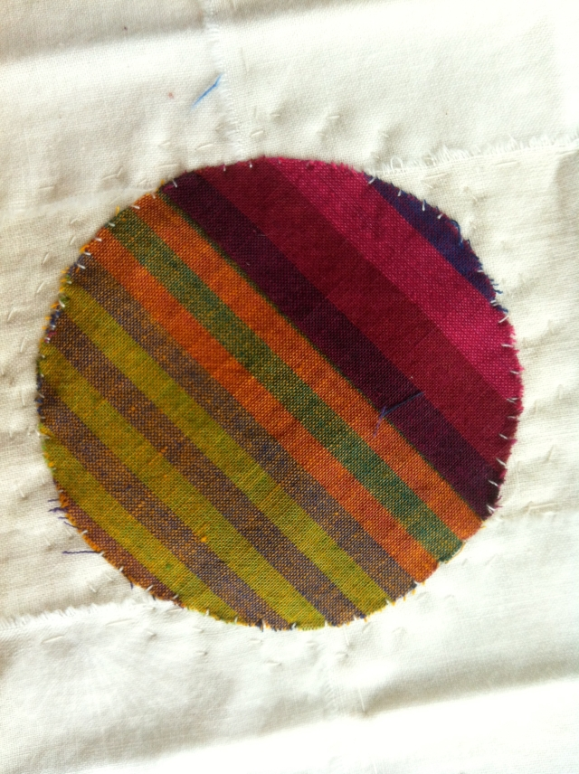 Muslin Weaving Patch 1