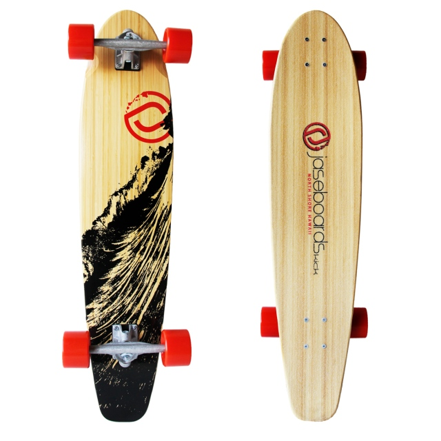 "38"" long board by Jaseboards."