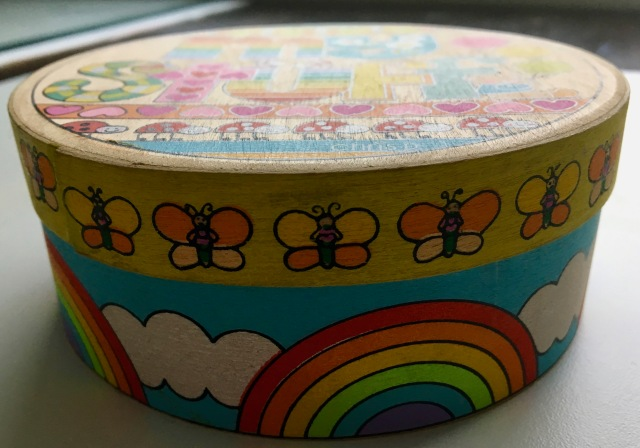 Rainbow Balsawood Box