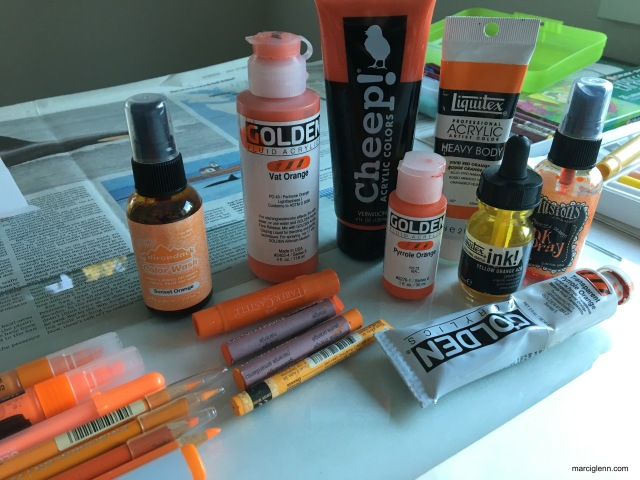 Book of Color Orange mediums