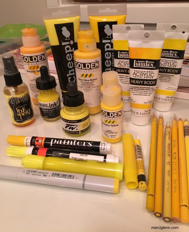 Book of Color Yellow Mediums
