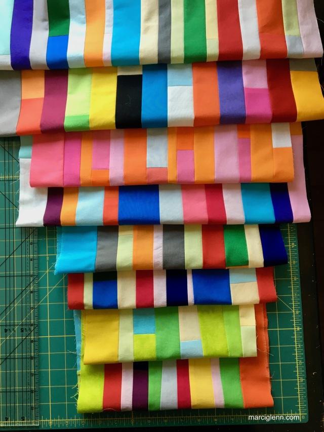 Improv Piece strip sets